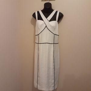 NWT Nueva White Cocktail Dress Size 8